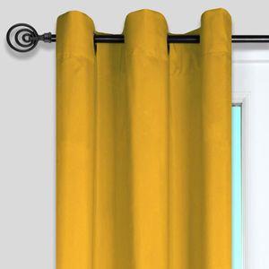 rideaux moutarde achat vente rideaux moutarde pas cher. Black Bedroom Furniture Sets. Home Design Ideas