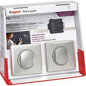 interrupteur sans fil legrand achat vente pas cher. Black Bedroom Furniture Sets. Home Design Ideas