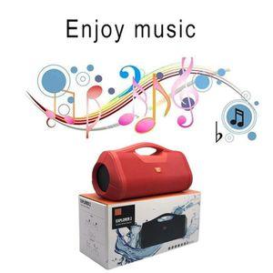 ENCEINTE NOMADE Enceinte bluetooth portable Waterproof rouge