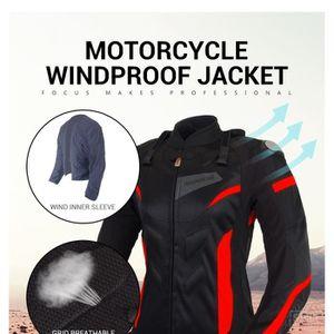 BLOUSON - VESTE BENKIA Moto Veste Respirant Moto Racing Vestes Fem