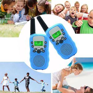 TALKIE-WALKIE JOUET Talkie Walkie Enfants 8 canaux Ecran LCD