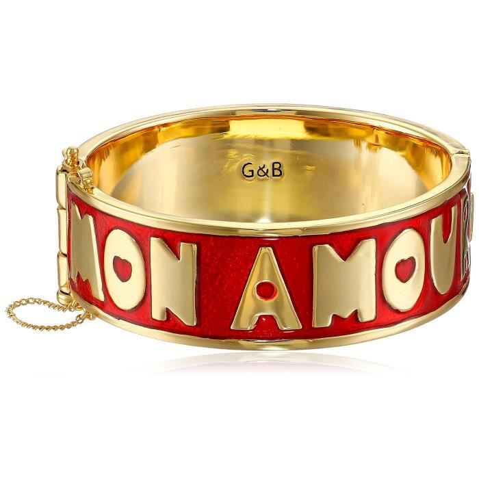 Giles & Brother Giles And Brother mon Amour Hinged Cuff Bracelet ZIZES