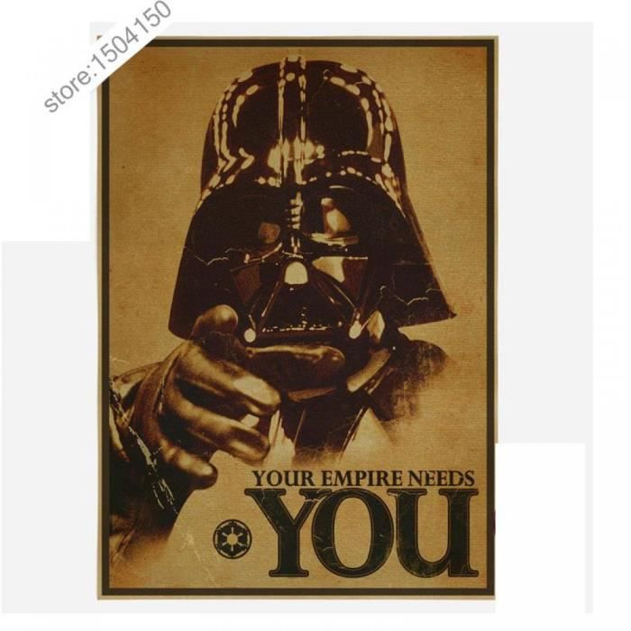 poster star wars achat vente poster star wars pas cher cdiscount. Black Bedroom Furniture Sets. Home Design Ideas