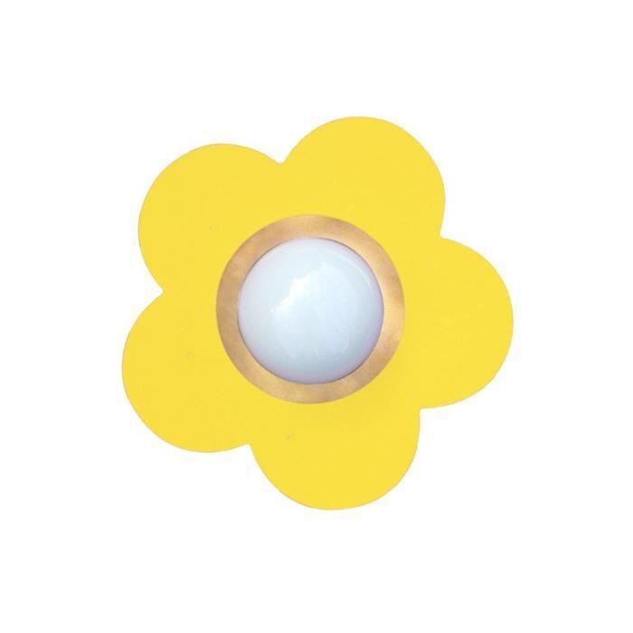 applique murale enfant jaune printemps achat vente applique murale enfant jaun cdiscount. Black Bedroom Furniture Sets. Home Design Ideas