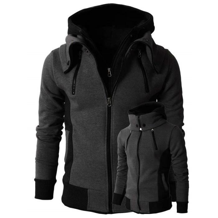 veste a capuche homme marque sport sweat veste blouson. Black Bedroom Furniture Sets. Home Design Ideas