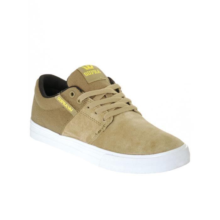 Chaussure Supra Stacks Vulc 11 Khaki-