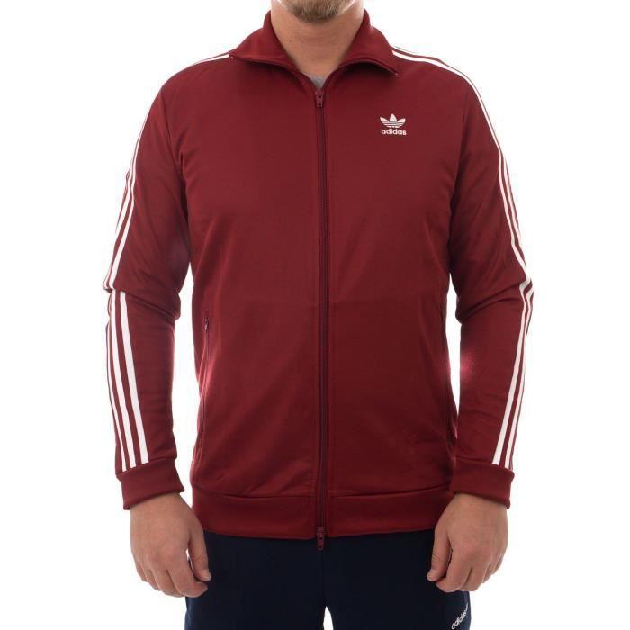adidas rouge veste