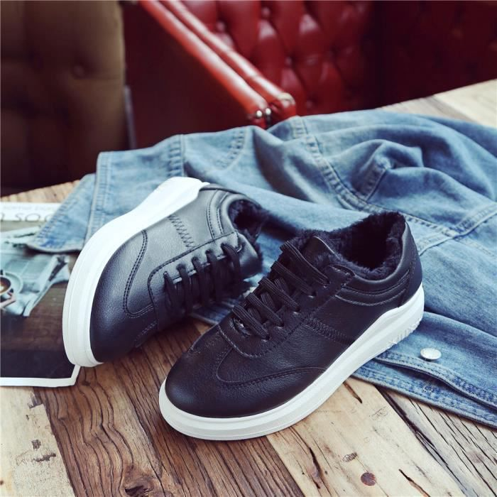 dff21198505 Tendance Sneaker Femme Antidérapant Chaussures 2018 Confortable Chaussures  Loisirs Mode 35-40
