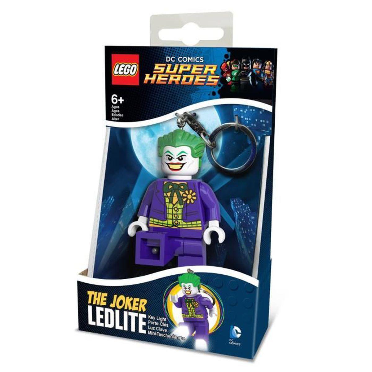 dc lego pc lampe de poche joker - achat / vente figurine