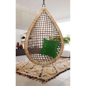 fauteuil suspendu achat vente fauteuil suspendu pas cher cdiscount. Black Bedroom Furniture Sets. Home Design Ideas