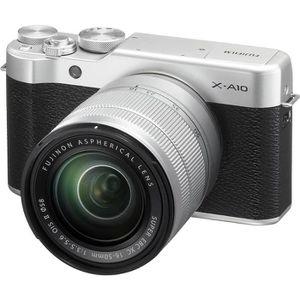 APPAREIL PHOTO RÉFLEX Fujifilm X-A10 Kit (16-50) Blanc