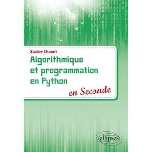 MANUEL LYCÉE GÉNÉRAL Livre - algorithmique et programmation en Python e