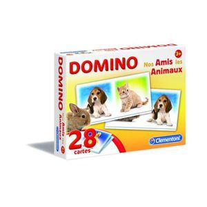 DOMINOS CLEMENTONI Domino - Nos Amis Les Animaux - Jeu édu
