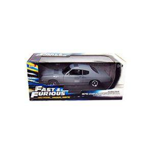 VOITURE À CONSTRUIRE FAST&FURIOUS 4 - Chevrolet Chevelle 1970 grise