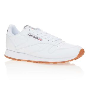BASKET REEBOK Baskets Classic Leather - Homme - Blanc