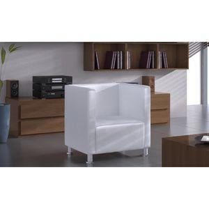 FAUTEUIL Fauteuil Design Club Blanc
