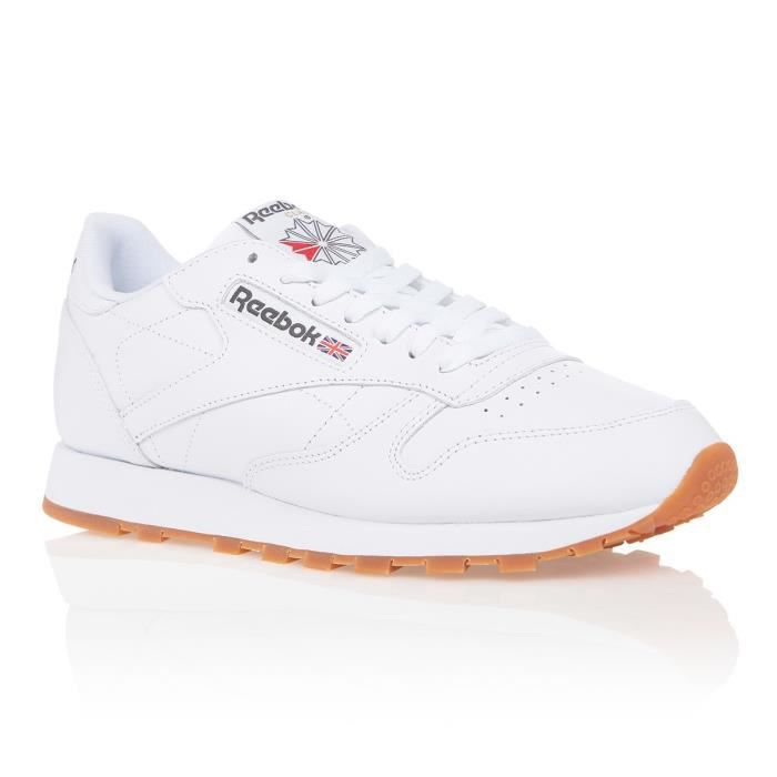 REEBOK Baskets Classic Leather Homme Blanc