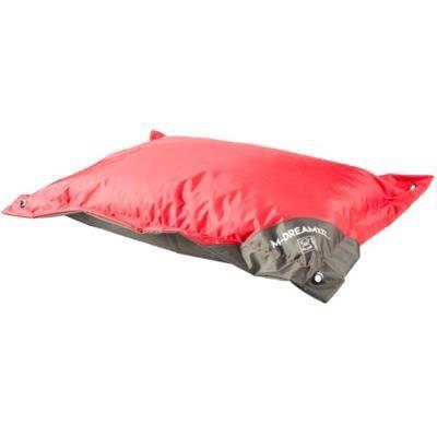 En matière textile solide et imperméable - Taille L - Coloris : rouge et gris - Pour chien.CORBEILLE - PANIER - COUSSIN - HAMAC - LIT
