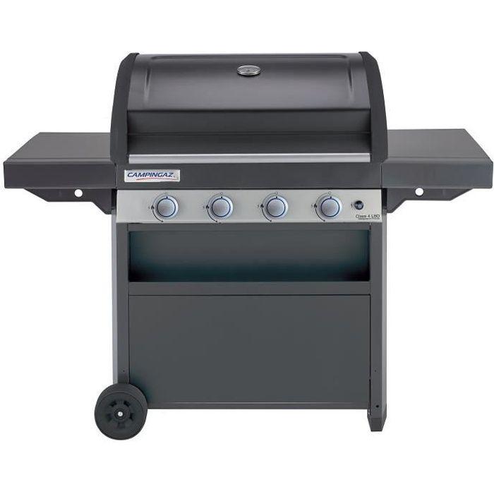 CAMPINGAZ Barbecue à gaz CLASS 4 LBD - Grille et Plancha acier - 78 x 45 cm