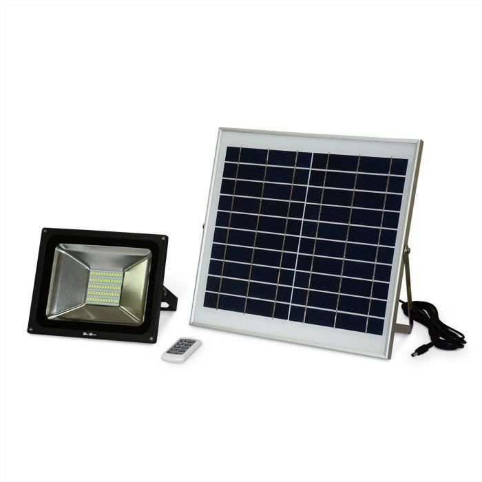 projecteur led solaire exterieur. Black Bedroom Furniture Sets. Home Design Ideas
