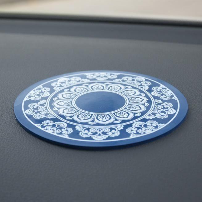 FIXATION - SUPPORT Anti-Slip de voiture tableau de bord Sticky Pad no