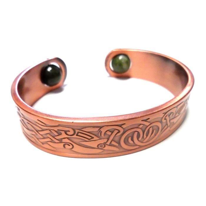 le bracelet en cuivre irlandais «bracelet en cuivre de printemps» des femmes? LMI0N