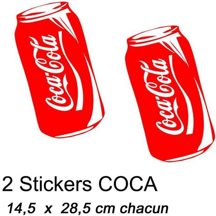 Sticker Coca Cola Achat Vente Sticker Coca Cola Pas Cher Cdiscount