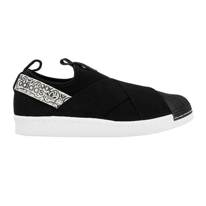 Canvas Slip-on Chaussures avec semelle intérieure rembourrée IMK93 Taille-37 4pakBtrzO