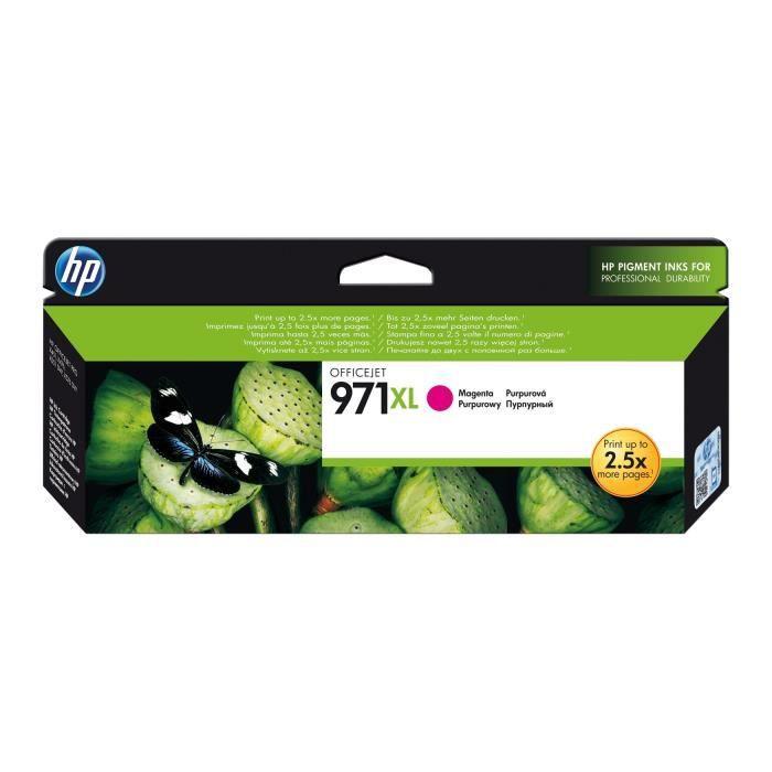 Cartouche HP 971XL - Magenta (CN627AE)
