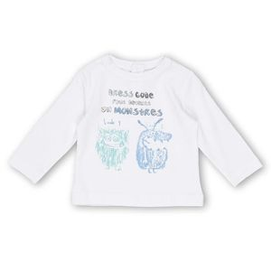 BEBE REVE Tee shirt manches longues - Blanc