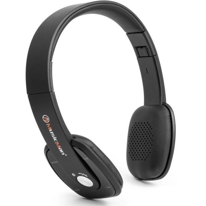 Transfert de musique par Bluetooth V3.0 - Fonction mains libres par Bluetooth - Radio FM intégréeCASQUE - ECOUTEURS