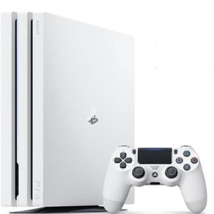 CONSOLE PS4 PS4 Pro 1To Blanche
