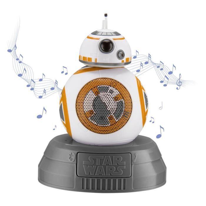 RADIO CD ENFANT STAR WARS Enceinte Bluetooth BB8