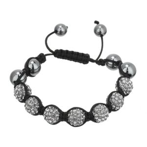 BRACELET - GOURMETTE SHAMBASTAR Bracelet Shamballa Mixte