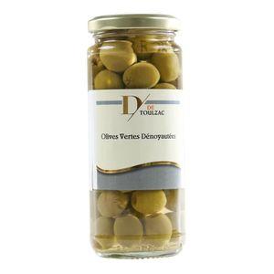 OLIVE D DE TOULZAC Olives Vertes Dénoyautées 37cl