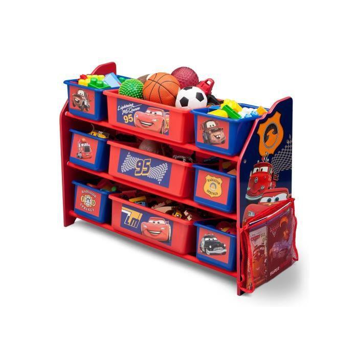 meuble enfant rangement cars. Black Bedroom Furniture Sets. Home Design Ideas