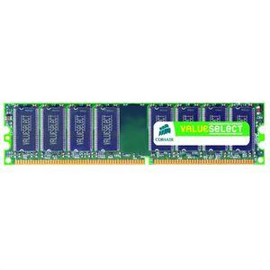 MÉMOIRE RAM Corsair 2Go DDR2 667MHz    VS2GB667D2