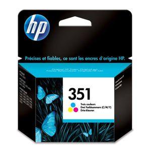 CARTOUCHE IMPRIMANTE HP 351 cartouche d'encre trois couleurs authentiqu