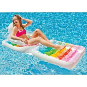 matelas gonflable piscine adulte