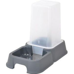 DISTRIBUTEUR D'ALIMENT Distributeur d'eau ou de croquettes - 3,5 l - 26x1