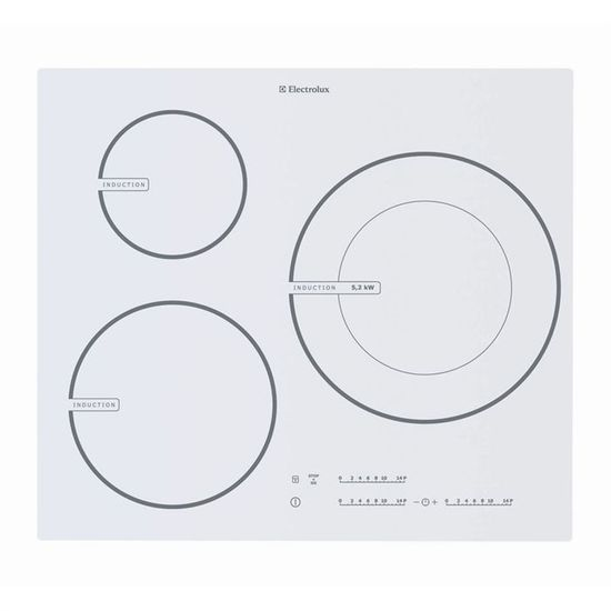 Electrolux Ehd60127iw Achat Vente Plaque Induction