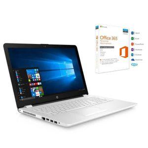 ORDINATEUR PORTABLE HP PC PORTABLE - 15.6