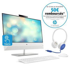 ORDINATEUR TOUT-EN-UN HP PC Tout-en-un Pavilion 24-xa0027nf 23.8