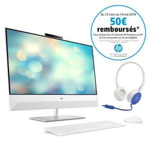 ORDINATEUR TOUT-EN-UN HP PC Tout-en-un Pavilion 27-xa0057nf 27'' FHD - I