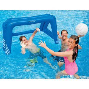 JEUX DE PISCINE INTEX Cage De Water Polo - Foot gonflable pour pis
