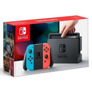 CONSOLE NINTENDO SWITCH Console Nintendo Switch avec un Joy-Con droit roug