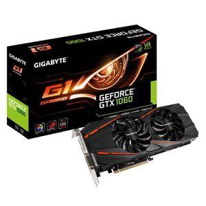 CARTE GRAPHIQUE INTERNE Gigabyte Carte graphique GeForce® GTX 1060 G1 Gami