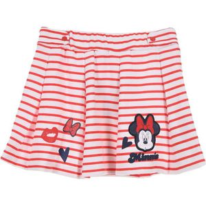 JUPE MINNIE Jupe Fille 65% Polyester 35% Coton Rouge