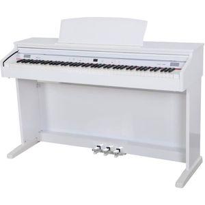piano numerique blanc pas cher achat vente soldes. Black Bedroom Furniture Sets. Home Design Ideas