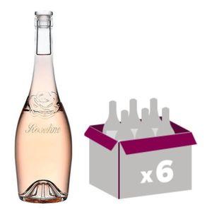 VIN ROSÉ Roseline Prestige  Côtes de Provence rosé 2017 x6